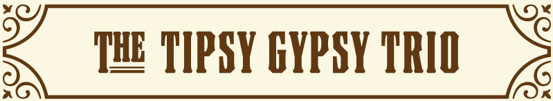 The Tipsy Gypsy Trio Logo